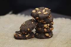 Recette des Cookies au cacao et aux noix (ideerepas) Tags: cookies idée recette des au cacao et aux noix repas