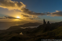 We made it!! (sarahOphoto) Tags: 6d canon highlands kingdom scotland uk united new year 2019 winter sunrise mountain view clouds lake loch pinnacles old man storr climb top sun nature landscape tourist travel