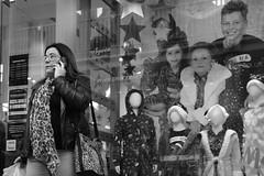 Faces (Bury Gardener) Tags: monochrome mono burystedmunds bw blackandwhite britain england eastanglia uk 2018 nikond7200 nikon suffolk streetphotography street streetcandids snaps strangers candid candids people peoplewatching folks arc thearc