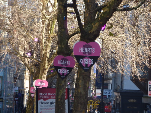 Hearts + Kisses - New Street, Birmingham