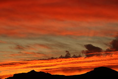 Sunset 1 31 19 #44 (Az Skies Photography) Tags: sun sunset set dusk twilight nightfall sky skyline skyscape cloud clouds red orange salmon yellow gold golden black rio rico arizona az rioricoaz riorico arizonasky arizonaskyline arizonaskyscape arizonasunset january 31 2019 january312019 13119 1312019 canon eos 80d canoneos80d eos80d canon80d