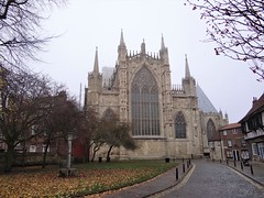 York Minster, the east end (heffelumpen9) Tags: yorkminster york england cathedral gothicarchitecture church gothiccathedral perpendiculargothic northyorkshire