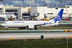 Copa Airlines Boeing 737-9 MAX HP-9901CMP (Mark Harris photography) Tags: spotting lax la canon 5d plane boeing aviation 737 copa