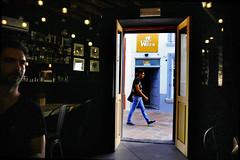 View from Coffee Bar, Queretaro (klauslang99) Tags: klauslang streetphotography queretaro mexico coffee bar person