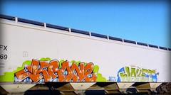 (timetomakethepasta) Tags: krone jaket freight train graffiti art grainer hopper