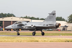 EGVA - Saab JAS 39C Gripen - Swedish Air Force - 39227 / 227 (lynothehammer1978) Tags: egva ffd raffairford royalinternationalairtattoo royalinternationalairtattoo2014 saabjas39cgripen 39227 swedishairforce