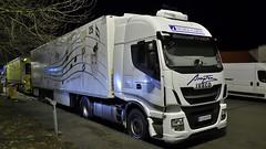 E - Murgi Cargo Iveco Stralis (BonsaiTruck) Tags: murgi cargo iveco stralis nacht night nuit lkw lastwagen lastzug truck trucks lorry lorries camion caminhoes