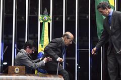 Plenário do Senado (Senado Federal) Tags: plenário sessãoespecial 110anosdecriação diretoriadeindústriaanimal 36anos abramvet 99anos sbmv médicaveterinária miltonthiagodemello idoso brasília df brasil bra