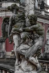 Neues Palais (michael_hamburg69) Tags: potsdam germany deutschland brandenburg sanssouci schloss castle barock sculpture skulptur neuespalais dasneuepalais male female angel engel ange man