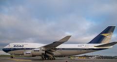 G-BYGC           B747-436   BOAC Retro Livery    British Airways (Gormanston spotter) Tags: avgeek eidw dub b747 boeing ba gormanstonspotter 2019 boac boacretrolivery britishairways gbygc