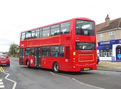AL DW430 - LJ11ADV - MAYPLACE ROAD BARNEHURST - TUE 2ND APR 2019 (Bexleybus) Tags: barnehurst road mayplace east bexleyheath kent da7 arriva london 99 tfl route dw430 lj11adv recent refurb wrightbus gemini daf