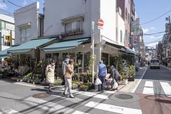 Tokyo.渋谷区西原 上原駅前商店街 (iwagami.t) Tags: iwagamitetsuo 201903 fujifilm fuji xt3 xf14mm japan tokyo city town urban street road alley shop people