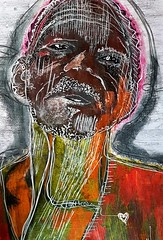 Adamar (franck.sastre) Tags: art painting picture africa colors expresion miradas eyes lips