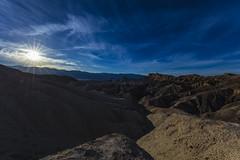 Zabriskie Point (CraDorPhoto) Tags: canon5dsr landscape deathvalley california usa sky blue clouds barren mountains outdoors nature