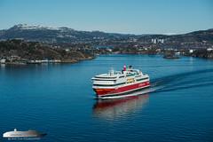 Stavangerfjord (Aviation & Maritime) Tags: stavangerfjord fjordline ferry carferry passengerferry passengership cruiseferry bergen norway