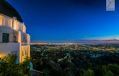 Los Angeles (Yannick Charifou Photography ©) Tags: nikon afs1424mm28g griffith park observatory observatoire vue paysage blue hour night light landscape étoile ciel sky stars los angeles losangeles californie california nuit ville city charifou wideangle d850 yannickcharifouphotography