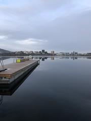 Linjene -|- Lake lines (erlingsi) Tags: møllendal hordaland lake city linjer bergen erlingsi iphone erlingsivertsen
