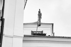 DSC06245 (igor.shishov) Tags: памятныеместа чехия прага городскиевиды город памятники sculpture bw praha prague city cityscape czechrepublic czech urban