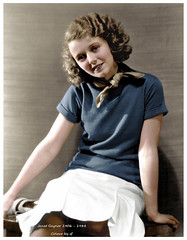 Janet Gaynor 1906 - 1984 (oneredsf1) Tags: actress american colorized gaynor janet