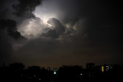 Sheet lightning (jeremyhughes) Tags: night singapore lightning storm thunderstorm thunder electricity electricalstorm clouds nighttime city nikon d700 nikkor 50mmf14d 50mm lights