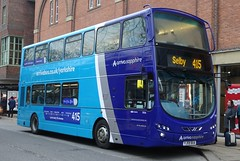 York (Andrew Stopford) Tags: yj59bua ay06max vdl db300 wright 2dl arriva sapphire york