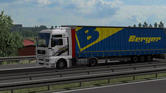 ets2_20190118_012341_00 (Kocaa_009) Tags: man mantruck mantga tga tga18480 truck trailer traffic tree road day autostrada roadway nature sky grass lines asphalt mega berger nis cityofnish mycity serbia