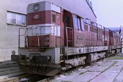 CD 742081-3 (bobbyblack51) Tags: cd class 742 ckd k6s 230dr bobo diesel locomotive 7420813 dkv ostrava 2006