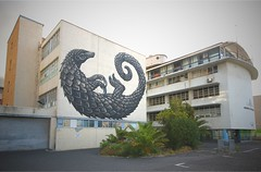 Pangolin - ROA (Mr Baggins) Tags: capetown saltriver graffiti streetart pangolin roa