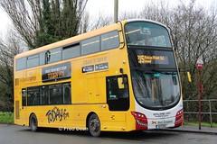 Bus Eireann VWD42 (151C7159). (Fred Dean Jnr) Tags: buseireannroute215 cork buseireann vwd42 151c7159 tower january2019 wrap todayfm volvo b5tl wright wrightbus eclipse gemini3 alloverad
