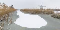 Kinderdijk 22-01-2019 (Wim Boon Fotografie) Tags: kinderdijk koud holland unescoworldheritage windmill wimboon nederland netherlands natuur nature winterlicht canoneos5dmarkiii canonef1635mmf4lisusm leefilternd09softgrad