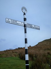 sign post in the Lake District (lesleydugmore) Tags: lakedistrict england uk europe sky blue outdoor outside signpost buttermere