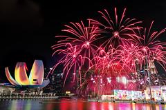River HongBao Fireworks (.John Wong) Tags: singapore river hong bao 2019 fireworks