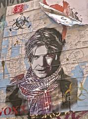 David Bowie, London, UK (Robby Virus) Tags: london england uk unitedkingdom britain gb greatbritain british pasteup paste pasted paper wheatpaste voxx romana street art david bowie music musician biohazard