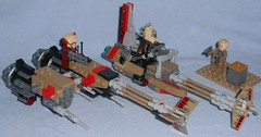 Lego - 75215 Cloud-Rider Swoop Bikes