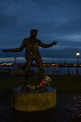 Billy Fury (Ed Graham) Tags: liverpool billy fury statue pier head albert dock river mersey