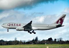QATAR CARGO A330 A7-AFZ (Adrian.Kissane) Tags: 1406 a7afz 2022019 qatar a330 cargo shannon