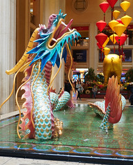 More Chinese New Year dragons, this one at the Palazzo. (wirehead) Tags: em5mk2 918mm lasvegas dragon palazzo