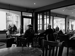 through the window 2 (watcher330) Tags: carmarthen men table window cafe