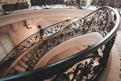 Stairs, Petit Palais - Paris, France (pas le matin) Tags: paris france europe europa travel voyage world stairs escalier staircase petitpalais architecture building stone pierre marble marche steps stonework canon 350d canon350d canoneos350d eos350d