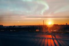 Quiet all day (Melissa Maples) Tags: antalya turkey türkiye asia 土耳其 apple iphone iphonex cameraphone winter street road morning sunrise sun dawn orange 354 hipstamatic