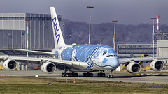 "ANA Airbus A380 JA381A ""Lani"" (antowo1) Tags: q airbus neo a380 xfw hamburg finkenwerder airbusfactory canon eos flugzeug aircraft planes plane"