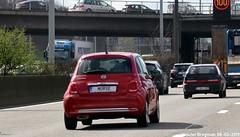 NURSE (XBXG) Tags: nurse license plate kenteken plaque immatriculation immat belgium belgië belgique ring antwerpen anvers fiat 500 fiat500