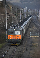 121 038-4 (smejky.fotos) Tags: dolní zálezly 121 0384 awt vlak železnice náklad zoom oranžová kostitřas skůtr