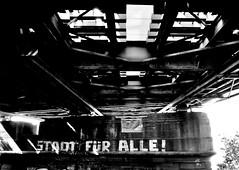 Stadt für alle! City for everyone! (cammino5) Tags: frankfurt niederräderbrücke main mai 2018 sw hessen deutschland
