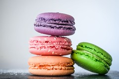 Colors cookies cream - Credit to https://homegets.com/ (davidstewartgets) Tags: colors cookies cream delicious dessert food green pastry pink sesame seeds sweets tasty violet