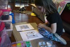 Now Olaf (evaxebra) Tags: luna perler bead beads olaf craft