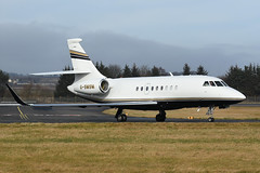 G-SMSM Dassault Falcon 2000EX EGPH 24-02-19 (MarkP51) Tags: gsmsm dassault falcon 2000ex bizjet corporatejet edinburgh airport edi egph scotland aviation airliner aircraft airplane plane image markp51 nikon d7200 nikon70200f4vr sunshine sunny planeporn