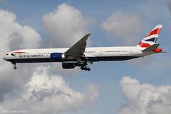 G-STBH (Baz Aviation Photo's) Tags: gstbh boeing 777336er british airways baw ba heathrow egll lhr 27l
