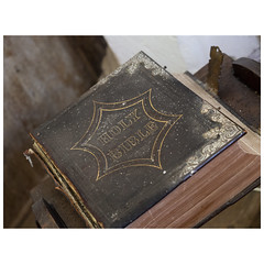 Holy Bible (badger_beard) Tags: st augustine canterbury burrough green cambridgeshire south cambs east newmarket parish church england holy bible