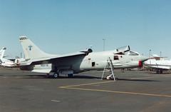 F-8K 145592 N19TB Thunderbird Aviation (spbullimore) Tags: states united navy us usn n19tb 145592 thunderbird aviation deer valley airport phoenix arizona az usa 1994 vought f8 f8k crusader
